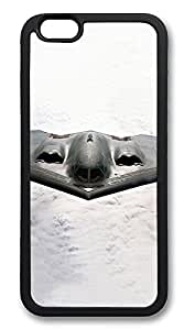 iPhone 6 Plus Cases, B2 Stealth Bomber Durable Soft Slim TPU Case Cover for iPhone 6 Plus 5.5 inch Screen (Does NOT fit iPhone 5 5S 5C 4 4s or iPhone 6 4.7 inch screen) - TPU Black by lolosakes