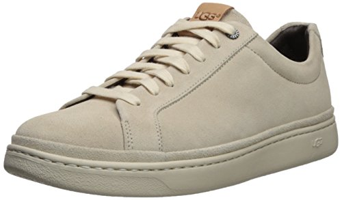 UGG Brecken Men's Cali Lace Low Sneaker, White Cap, 12 M US ()