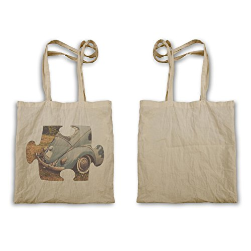 Puzzle Vintage Old Nice Car Vw Carry Bag E637r