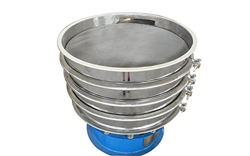 220V 750W Electric 31.5'' Diameter Three Layers Stainless Steel Powder Vibrating Machine Shaker Screen by shaker (Image #3)