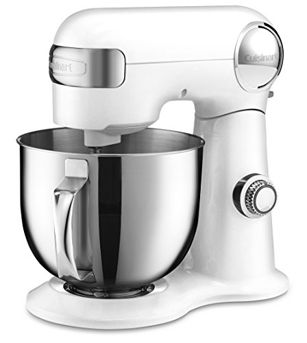 Cuisinart SM-50 5.5 – Quart Stand Mixer, White For Sale