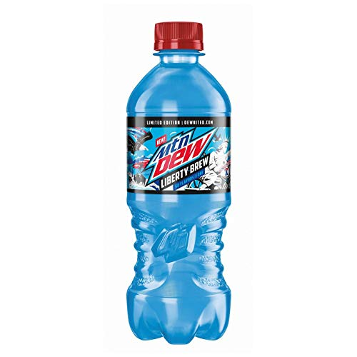 Limited Edition Mountain Dew Liberty Brew 6, 20 ounce Bottles