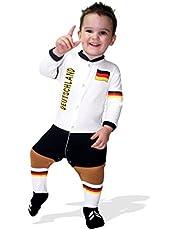 Footysuit Kinderbroek Duitsland Slaappak