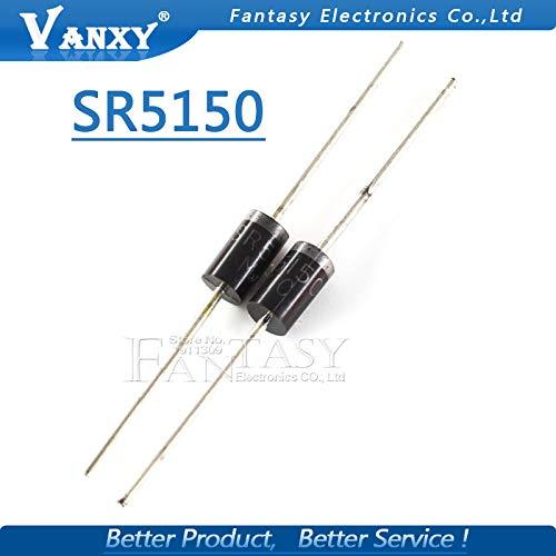 10pcs SR5150 SB5150 MBR5150 Schottky diode 5A 150Vpping