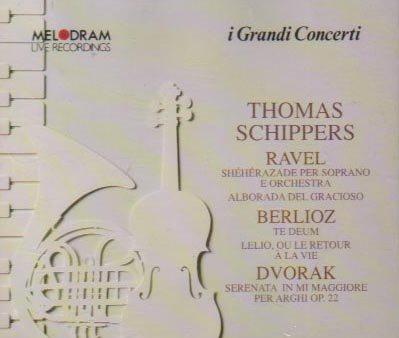Ravel: Shéhérazade: Berlioz: Te Deum; Dvorak: Serenata (Live Recordings, Roma/Napoli,1969/1970) by Melodram