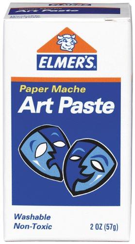 Elmer's Art Paste, Paper Maché, 2 Ounces, 3-Pack (99000) by Elmer's
