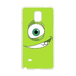 Monsters 008 funda Samsung Galaxy Note 4 Cubierta blanca del teléfono celular de la cubierta del caso funda EOKXLKNBC24243