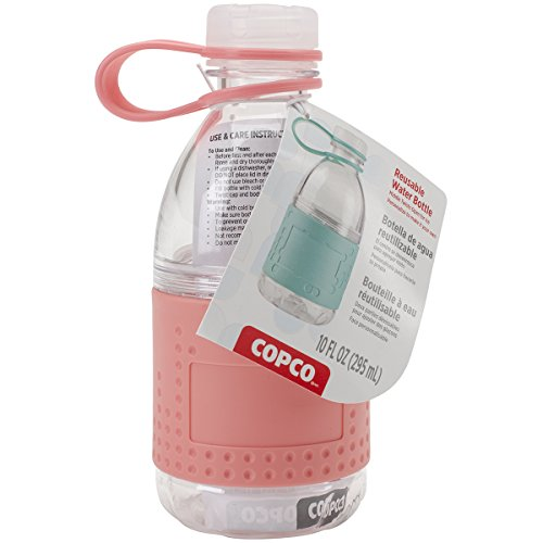 Copco Hydra Bottle, 10 oz, Coral