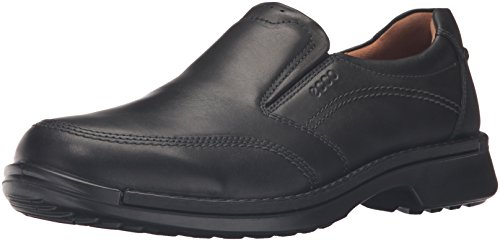 ECCO Men's Fusion II Slip On Casual Loafer Slip-On, Black, 44 EU/10-10.5 M US