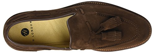 Hudson London Benedict, Mocassini Uomo Marrone (Brown)