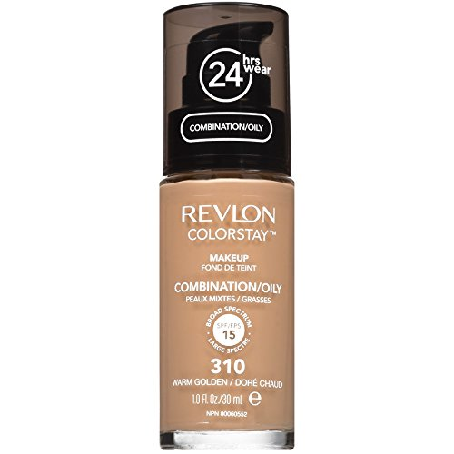 Revlon ColorStay Liquid Makeup for Combination/Oily, Warm (310 Natural)