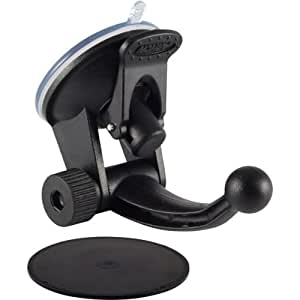 Arkon Replacement Upgrade or Additional Windshield Dashboard Suction Mounting Pedestal for Garmin nuvi 40 50 1450 1200 GPS