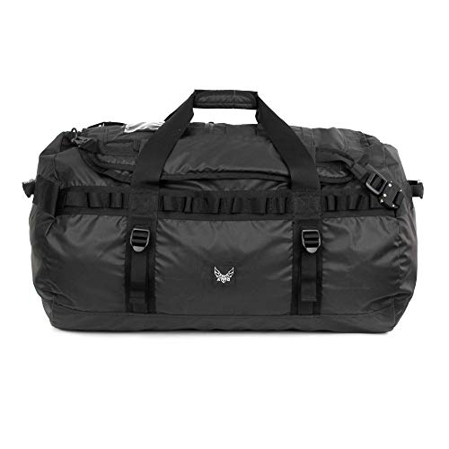 - AMG Torino Lazer Cut MOLLE Heavy Duty Light Weight Nylon Carried as a Backpack or Duffle Bag TPU Black