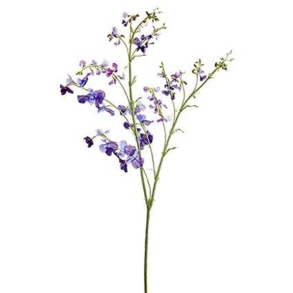 Amazon.com: Flor de seda dulce de 59.1 in, color morado ...