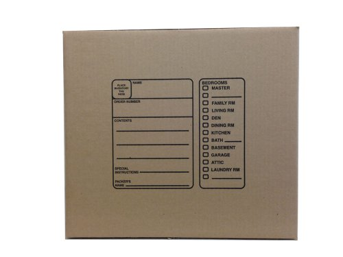 The Boxery BX181816 18 x 18 x 16 Inches Genuine Medium Moving Boxes, Pack of 10 Photo #2