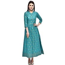 Buy Glam Roots Women's A-Line Cotton Kurta India 2021