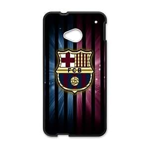 HTC One M7 phone case Black Barcelona POSSR5768543