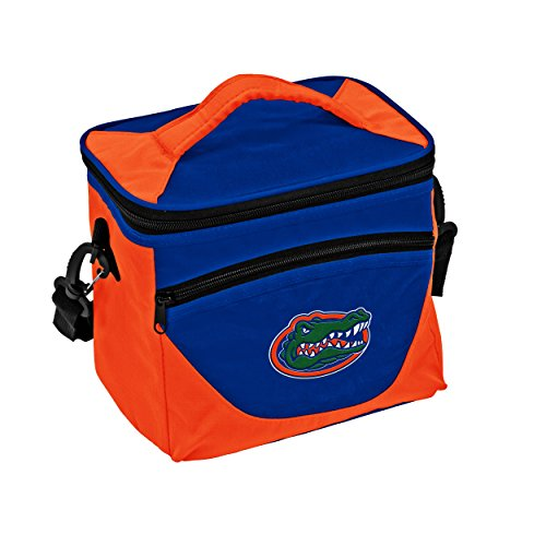 Front Cooler - Logo Brands Collegiate 9-Can Halftime Cooler with Front Dry Storage Pocket and Shoulder Strap