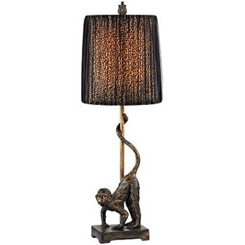 Verdugo Gift 36001 Monkeys Amp Palm Tree Table Lamp