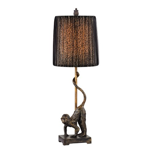 - Dimond Lighting D2477 Aston Monkey Accent Lamp, Bissau Bronze