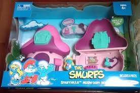 Smurf Mushroom (The Smurfs Smurfette Mushroom House)