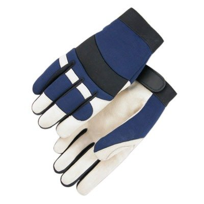 Majestic Glove - Bald Eagle Thinsulate Lined Pigskin Mechanic Gloves - X-Large