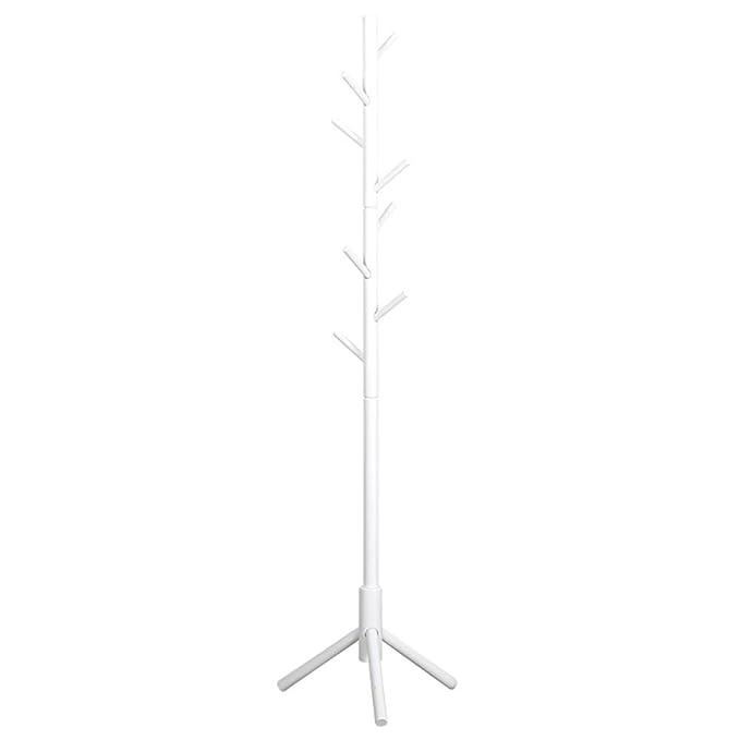Amazon.com: LXLA - Perchero de pie blanco, soporte para ...