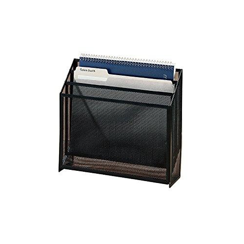 Wholesale CASE of 10 - Rolodex Expressions Mesh 3-Tier Organizer-Desk Organizer, 3-Tier, Black