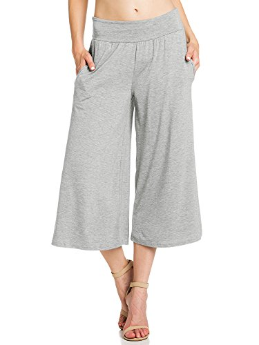 Jersey Cropped Pants - 9