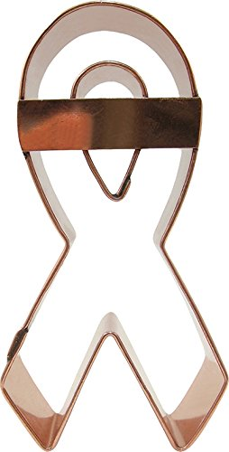 CopperGifts: Awareness Ribbon Cookie Cutter with (Awareness Ribbon Cookie)