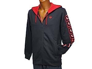 adidas Originals Hooded Fleece Sudadera con Capucha, (Negro), X-Small: Amazon.es: Zapatos y complementos