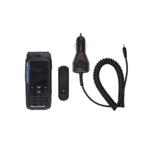 Starter Kit Leather Case & Car Charger for Nokia - 5310 Leather
