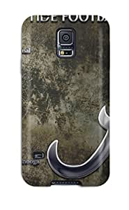 S5 Scratch-proof Protection Case Cover For Galaxy/ Hot Alabama Football Computer Phone Case