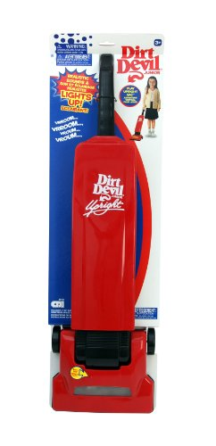 Dirt Devil Junior Lights Sounds Upright Toy Vacuum Cleaner