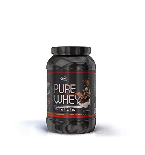 - Whey Protein Powder 2 lbs Lean Muscle Micro Ultra Filtrated Mixes Instantly Faster Absorption Over 5g of Glutamine and BCAA 22g of Protein per Serving Low Carb No Aspartame (908g, Double Chocolate)