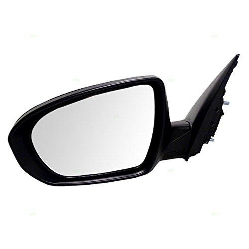 (Drivers Power Side View Mirror with Signal Manual Folding w/o Heat fits 11-13 Kia Optima 876102T110)
