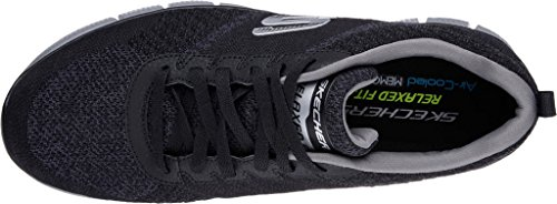 Skechers Equalizzatore 2.0 In Pista Herren Low-top Schwarz