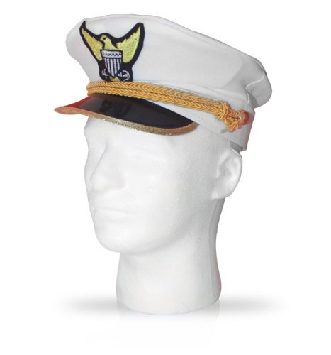 Navy Admiral Hat - Kids, one size fits all by CutieBeauty ua