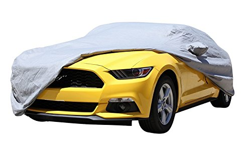 XtremeCoverPro Car Covers Ready fit for Honda Civic 2018 UV Protection Vehicle Accessories Breathable Car Cover Indoor Outdoor Protection ()