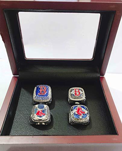 2018 World Series Ring - YIYICOOL BT N 2004-2018 Red Sox World Series Baseball Championship Rings Set Size 11 (11, 4 Years Ring)