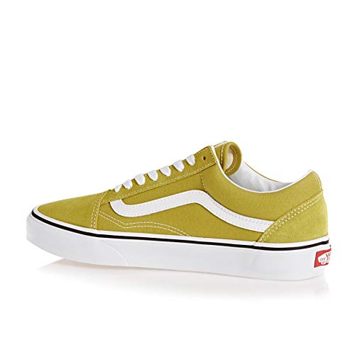 Adulto Zapatillas Vans Green Unisex Skool White True Cress Old U qwtrSXt