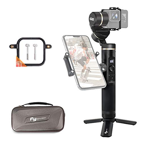FeiyuTech Feiyu G6 3-Axis Splash-Proof Handheld Gimbal for GoPro Hero 6 5 4 3, Sony RX0, Yi 4K, AEE Action Camera