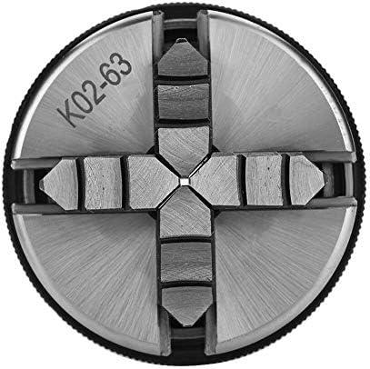 YIONGA CAIJINJIN Lathe Accessories Chuck 4-Jaw K02-63/M14 Self-Centering Manual Lathe Chuck for Woodworking Tool