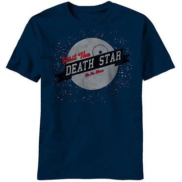 Star Wars Visit Us Death Star T-Shirt