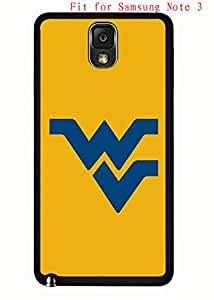 Case for Samsung Galaxy Note 3 N9005 Cover West Virginia,WVU AgnesPro Design for Men 4687