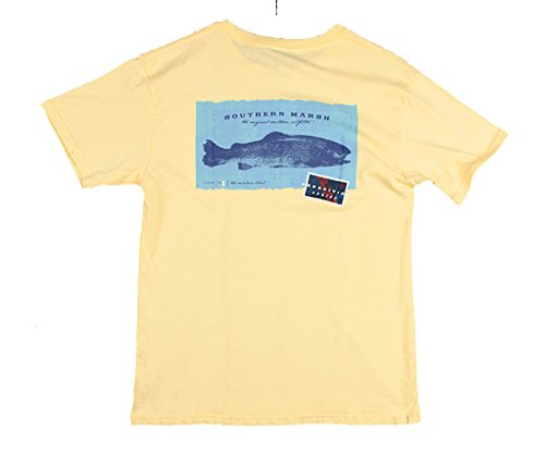 Expedition Series Rainbow Trout,Light Yellow,XXLarge (Southern Marsh Lab)