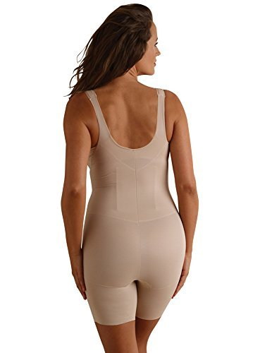 Miraclesuit Shapewear Women's Back Magic Extra Firm Torsette Thigh Slimmer Nude X-Large