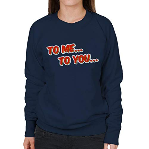 Women's Me You To Chucklevision Blue Sweatshirt Navy Oqf1t1x5w