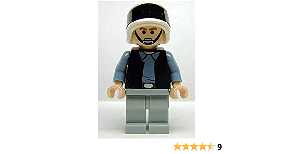 LEGO STAR WARS REBEL SCOUT TROOPER MINIFIGURE 75011 MINIFIG FIGURE RARE FROWN