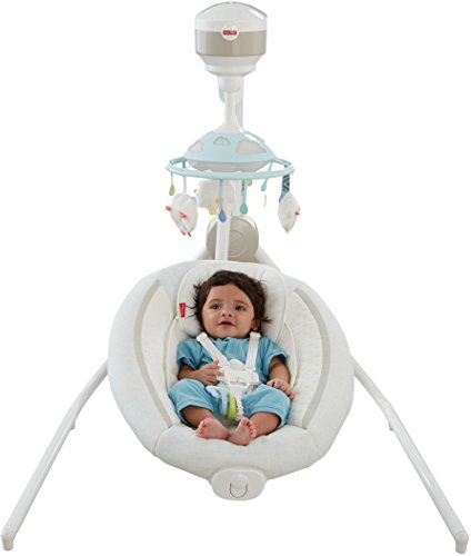 Fisher-Price Comfy Cloud Cradle 'n Swing